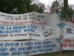 Malvinas Veterans' Protest Camp