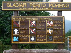 Perito Moreno Welcome