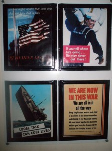 USS Alabama World War II Posters